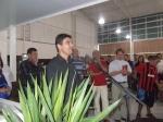 Empresário Edgar agradeceu a presença de todos e falou sobre o projeto do novo empreendimento